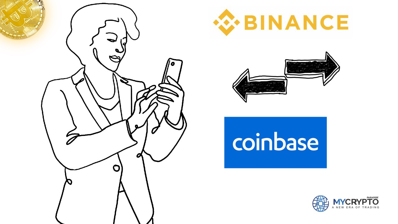 How to Transfer Crypto from Binance to Coinbase
