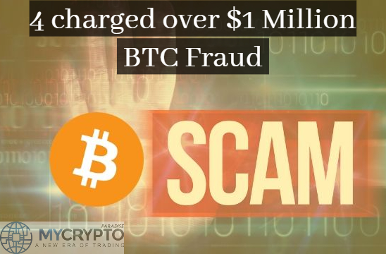 CFTC Charges 4 Individuals with Alleged $1 Million Bitcoin Investment Scheme