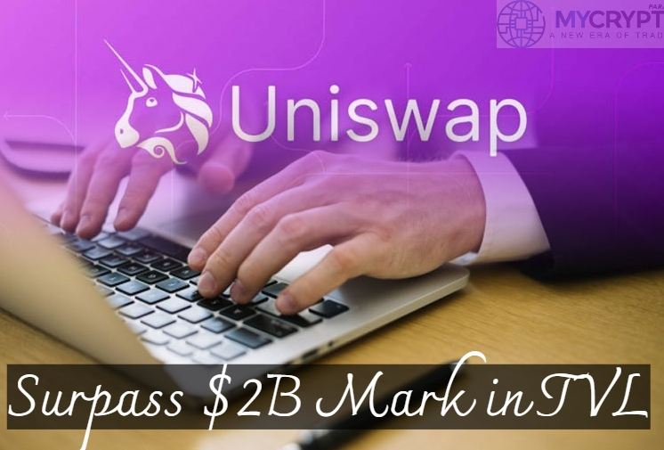 Uniswap Surpasses a $2 Billion Mark in Total Value Locked