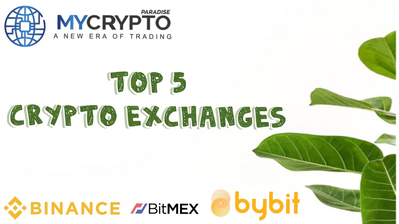 Top 5 Cryptocurrency Exchange for Trading Crypto