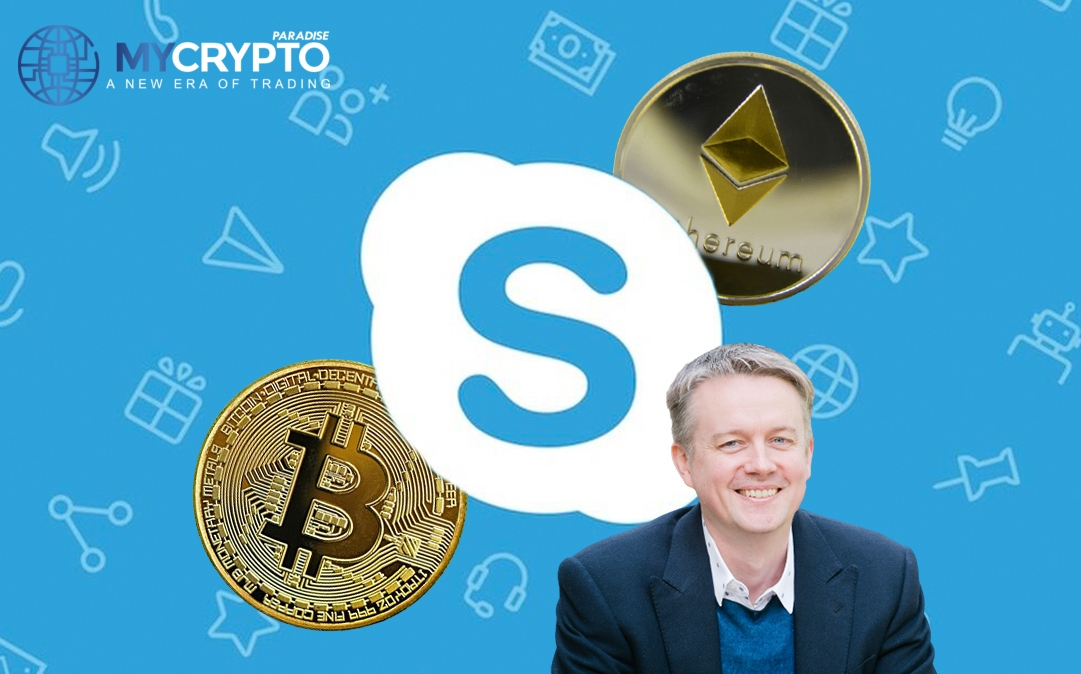 Skype Co-founder holds private wealth in Bitcoin and Ethereum