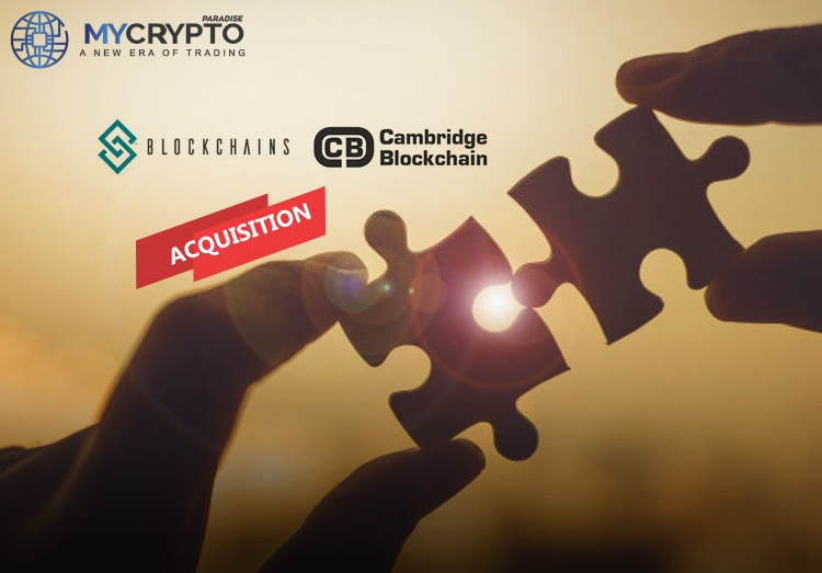 Blockchains LLC takes over Cambridge Blockchain, supported by PayPal