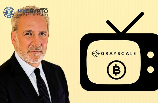 """Renowned Bitcoin Critic, Peter Schiff Calls Out Grayscale for """"Made Up"""" Bitcoin Bullish Trend"""