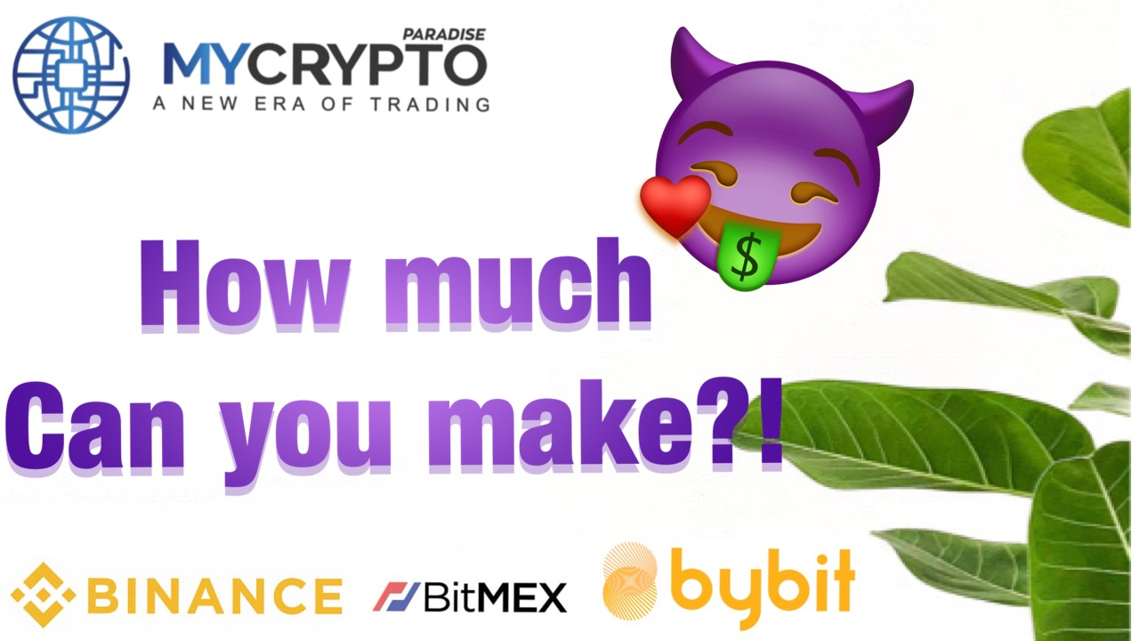 How much do people make by trading cryptocurrency?