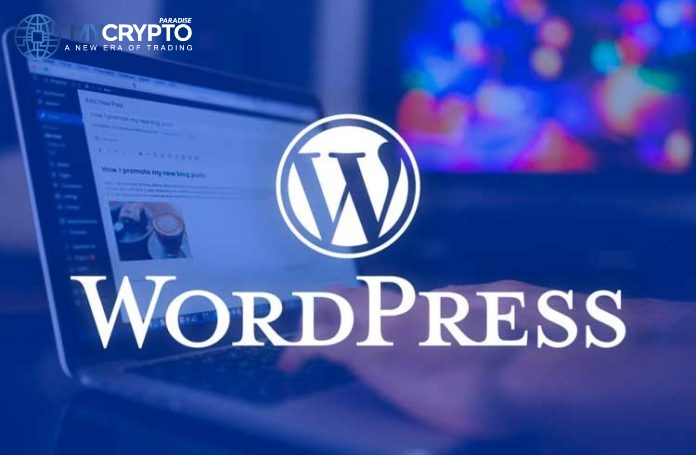 WordPress Users can now Earn Ethereum as Ad Revenue