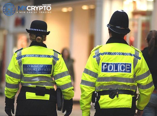 British police combine efforts with Komainu