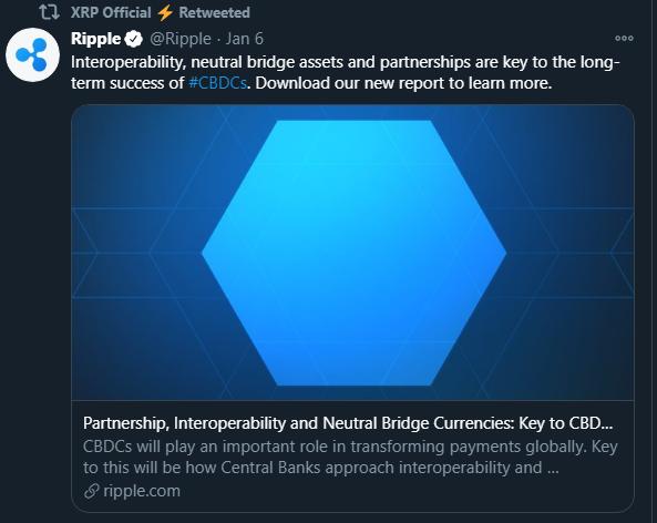 Ripples CBDC aspirations