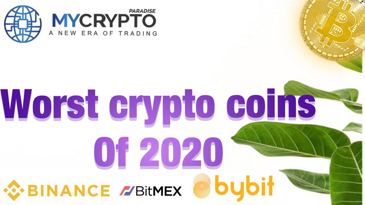 10 Worst Performing Cryptocurrencies of 2020