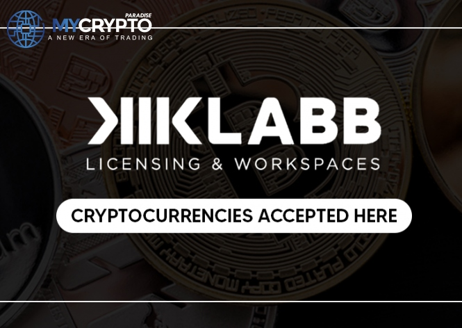 KIKLABB, the Dubai-licensing entity, now accepts cryptocurrencies
