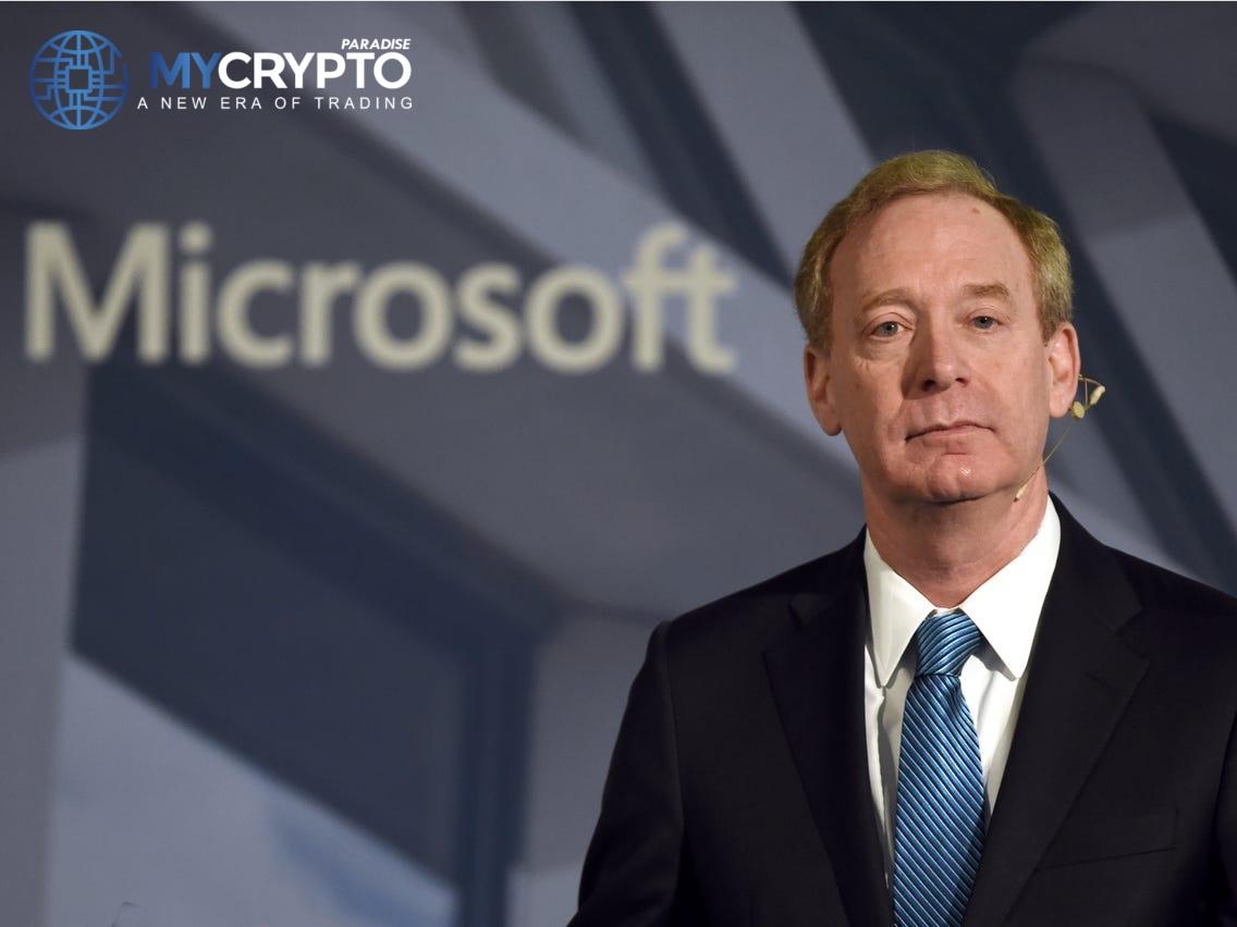 Microsoft President Shut Down Assumptions of Putting Cash into Bitcoin