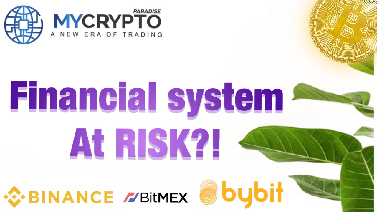 What type of problems or risks could cryptocurrency pose to the financial system in the future.