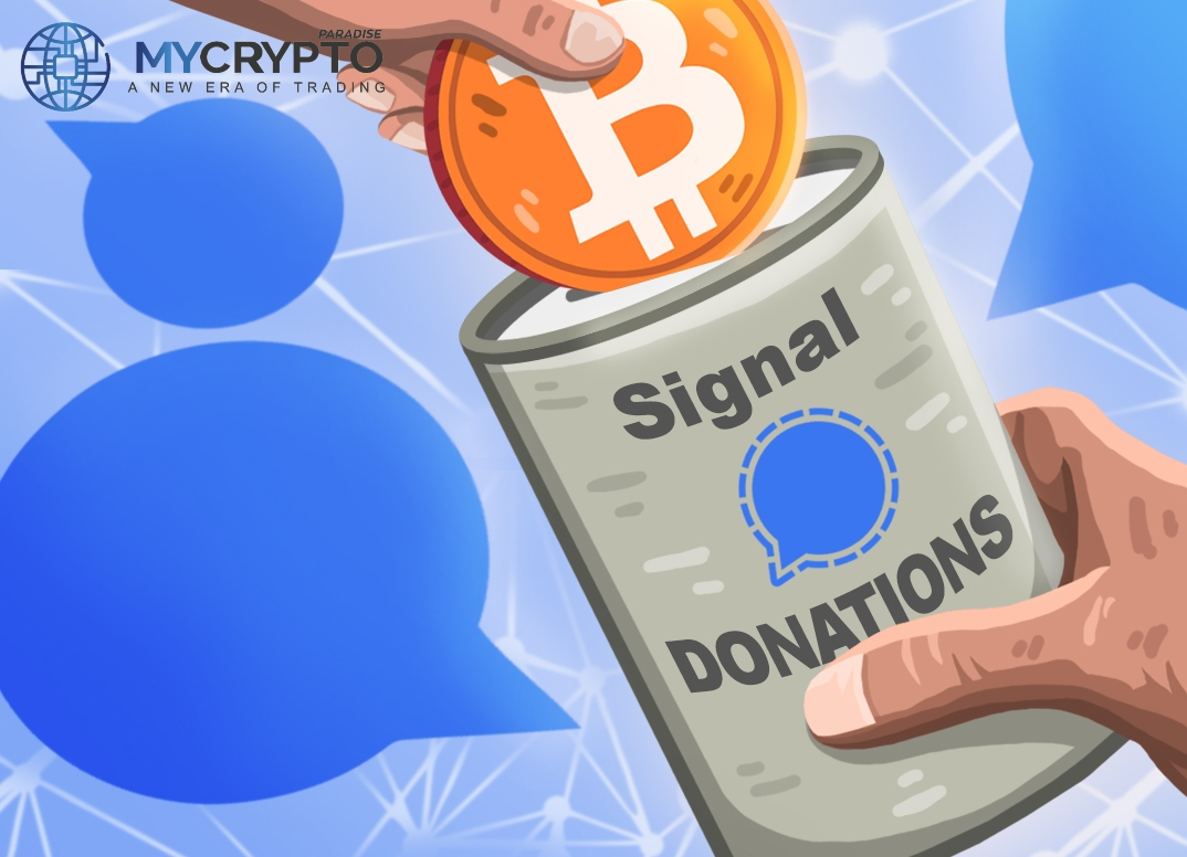 Signal Now Accepts Cryptocurrency Donations