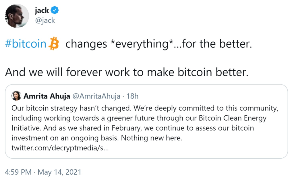 Bitcoin's positive impact