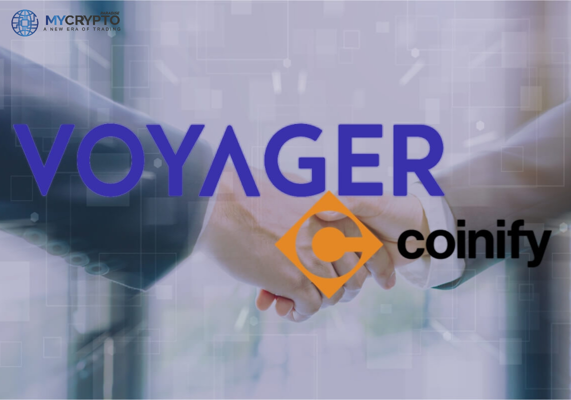 Voyager Digital Acquires Coinify