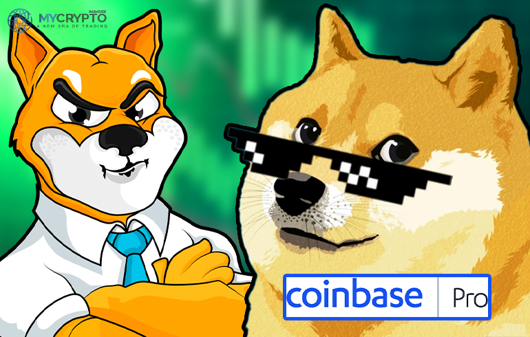 Coinbase Pro Lists Dogecoin's Rival