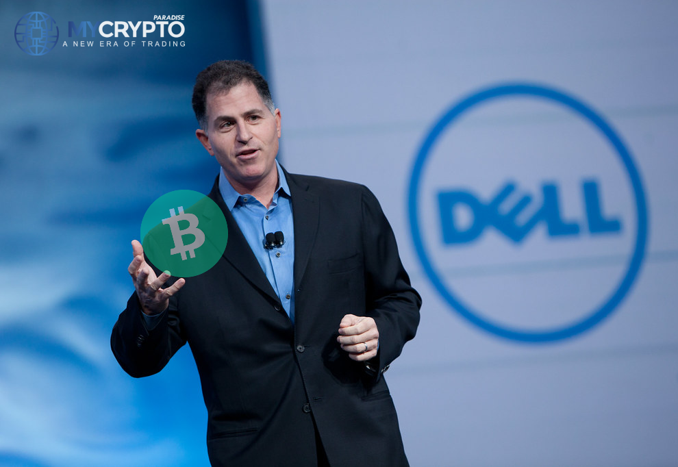 Dell's adoption of Bitcoin