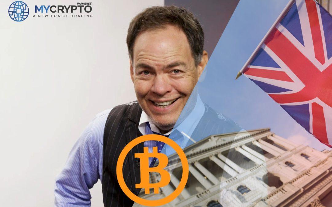 La Banque d'Angleterre se précipitera pour BTC avant qu'elle n'atteigne 1 million de dollars: Max Keizer