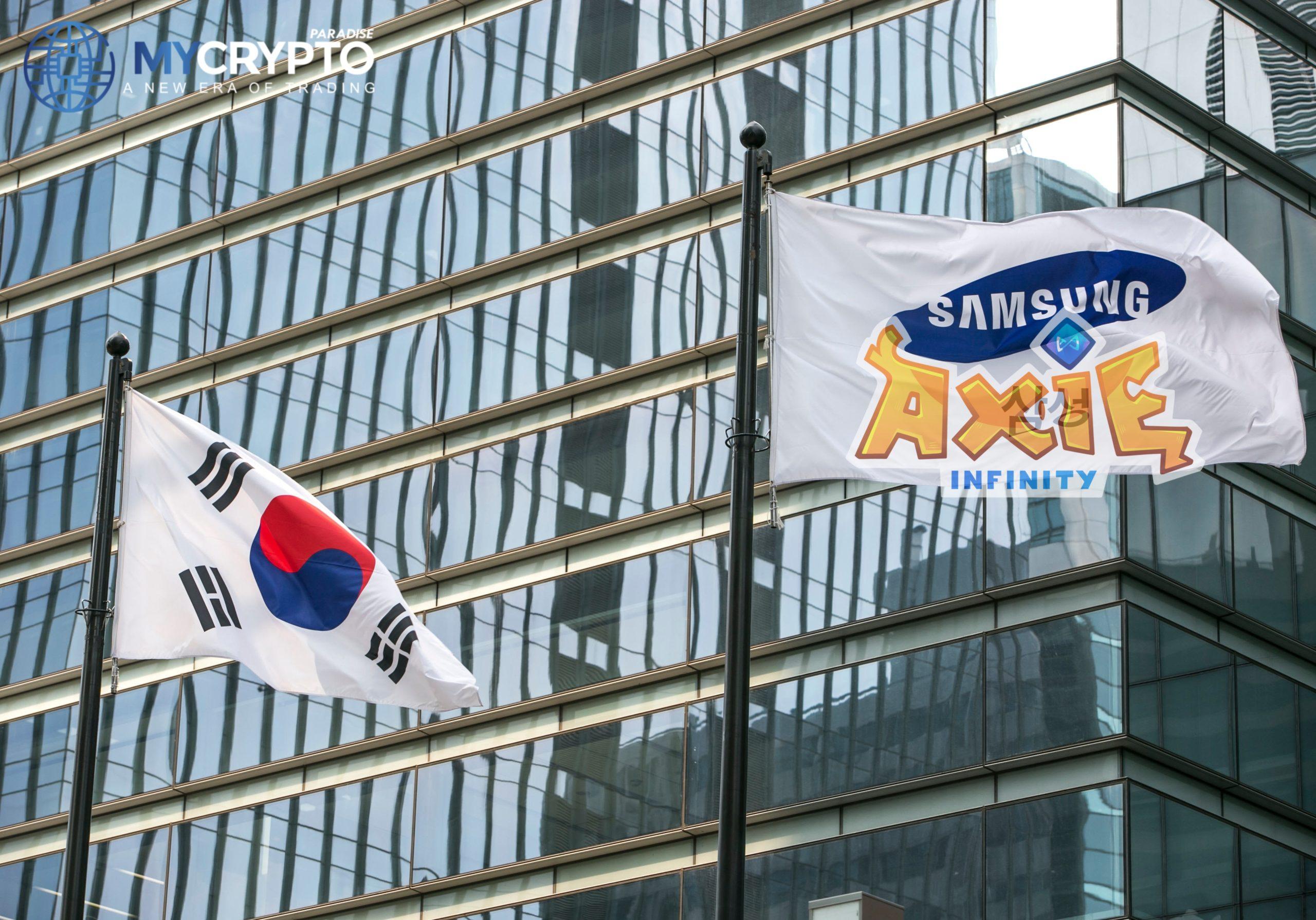 Samsung investuje do Axie Infinity